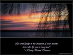 Dreams~Thoreau