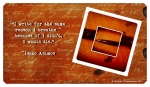 Writers Wallpaper - Asimov