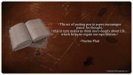 WriterzBlox ~ Bradbury quote