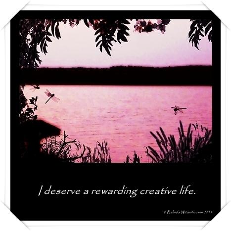 Weekly Creative Affirmation Card via www.igniteyourcreativity.net