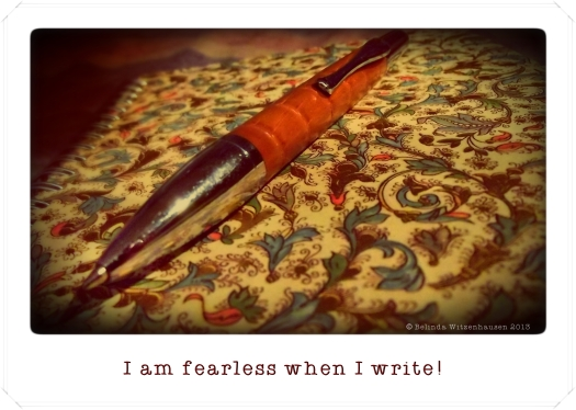 Affirmation For Writers~