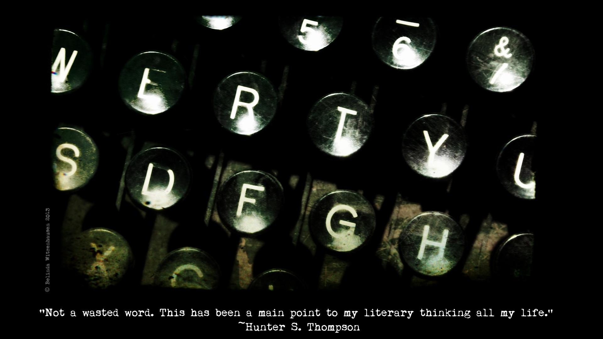 Literary Wallpaper