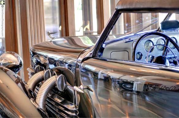 1937 Cord Car Auburn Cord Duesenberg Museum Photo by Glen Green — 8369-73wtmk_med