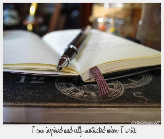 Writer's Affirmation Card