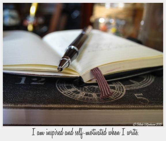 Writer's Affirmation Card