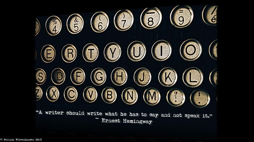 Hemingway Wallpaper
