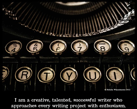 Writers Affirmation Card