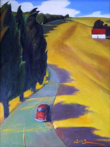 """Open Road  18 x 24"""", oil on canvas"""