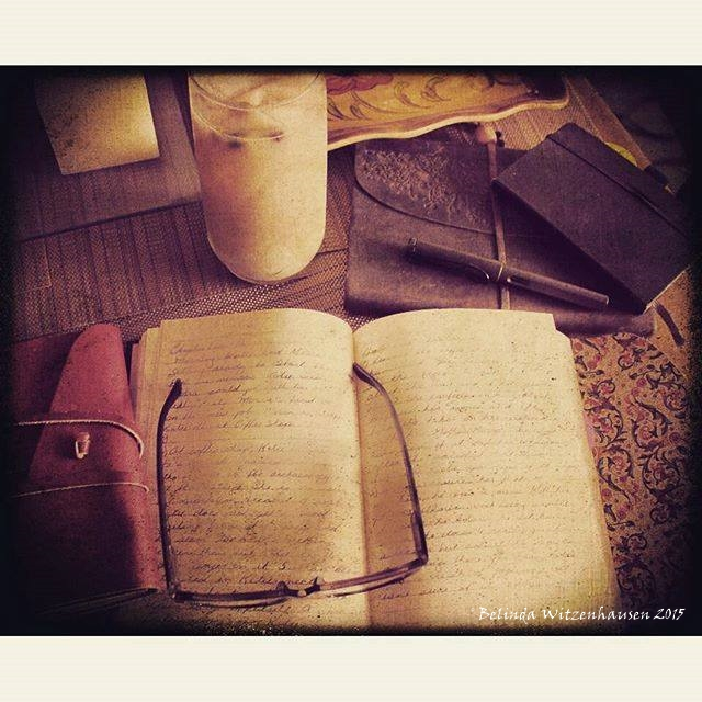 Writing my life away