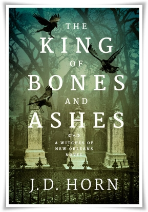 Book Cover King of Bone and Ashes