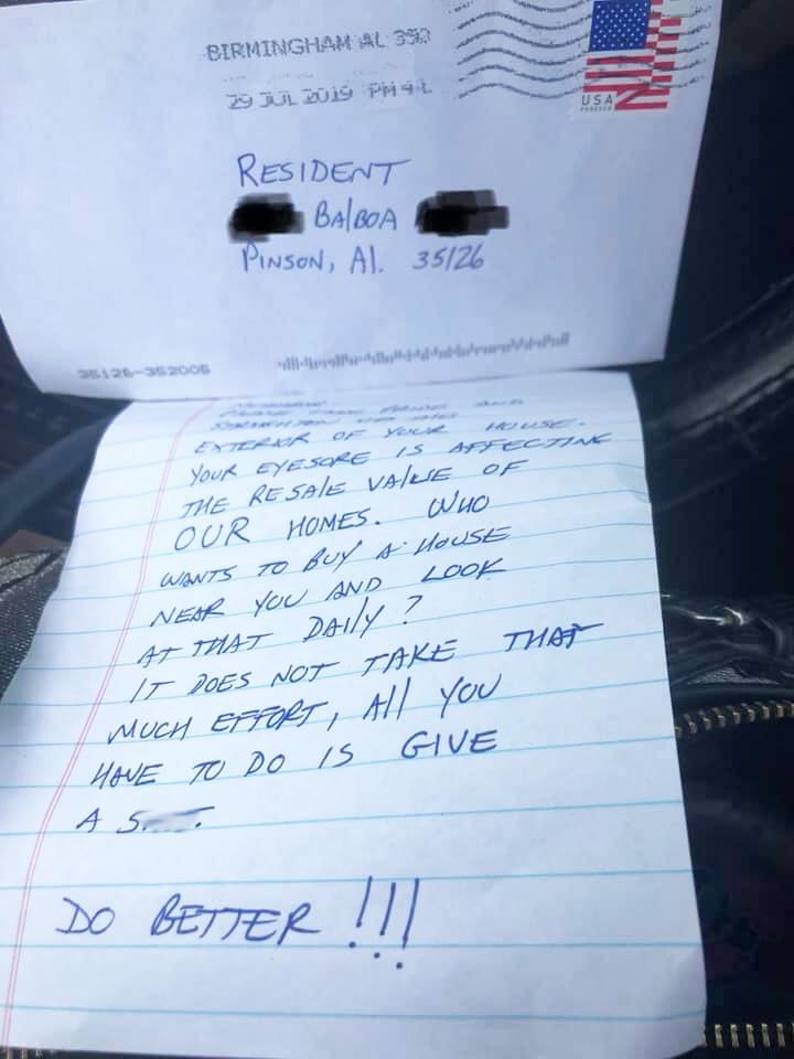 Complaint Letter to Randa