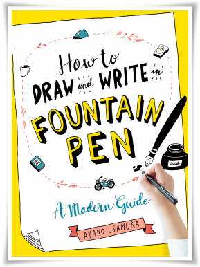 How to Draw and Write in Fountain Pen Cover
